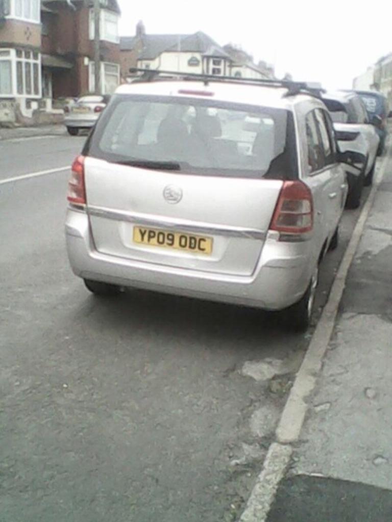 Vauxhall 7 seater zafira