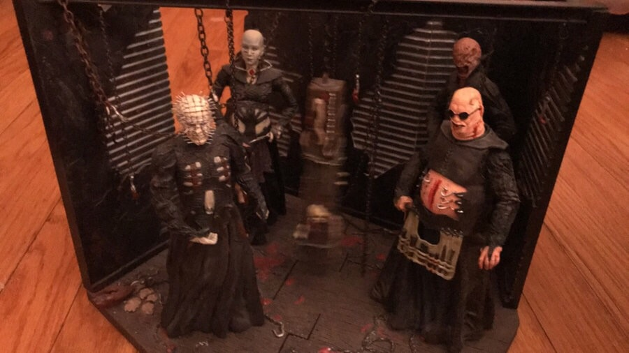 Very rare Hellraiser collectors items