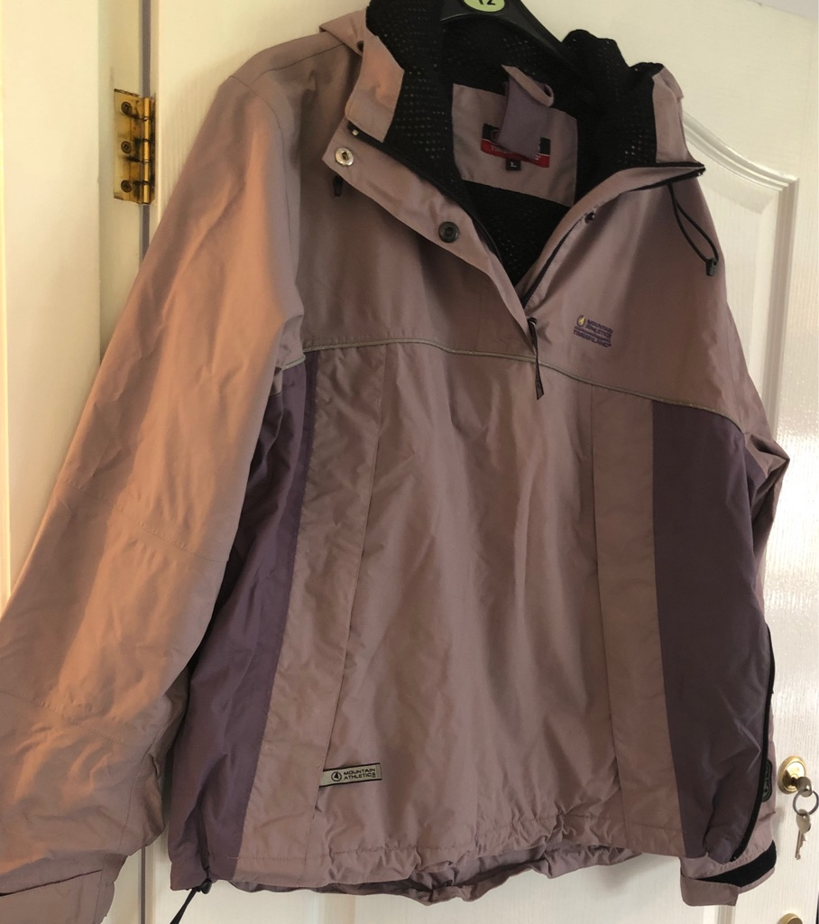 LADIES SLIP OVER MOUNTAIN ATHLETIC TIMBERLAND JACKET