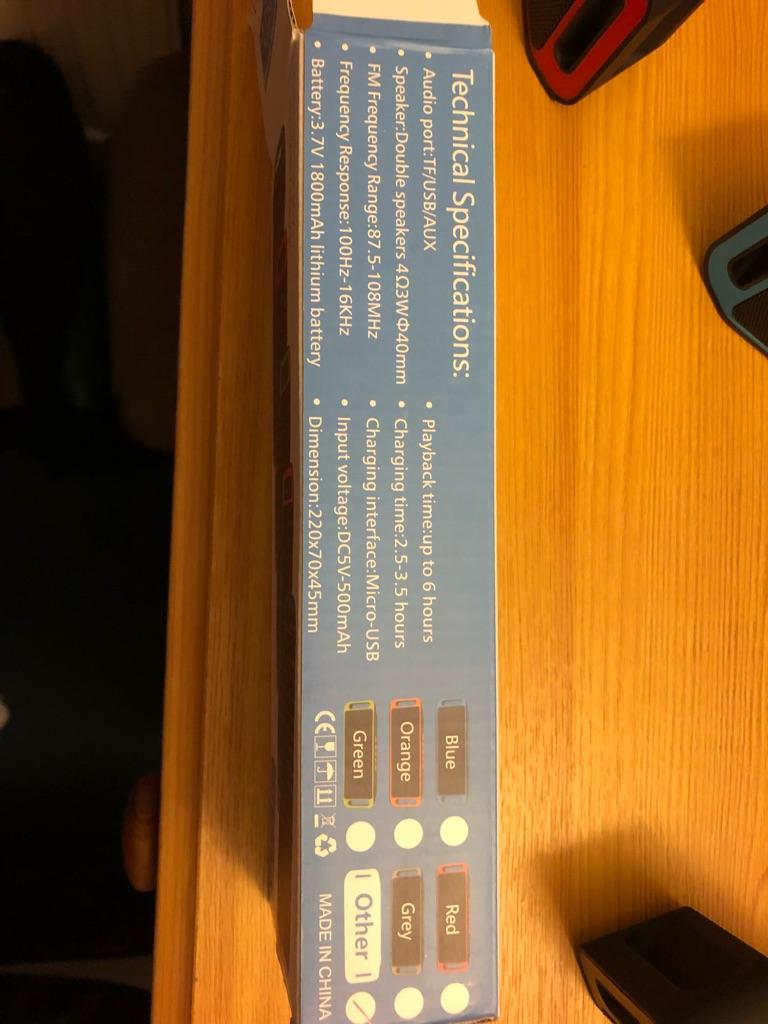 BRAND NEW Bluetooth speakers