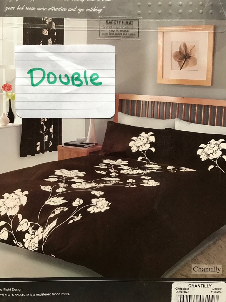 Bedsets double and king £8 each or 2 for £15