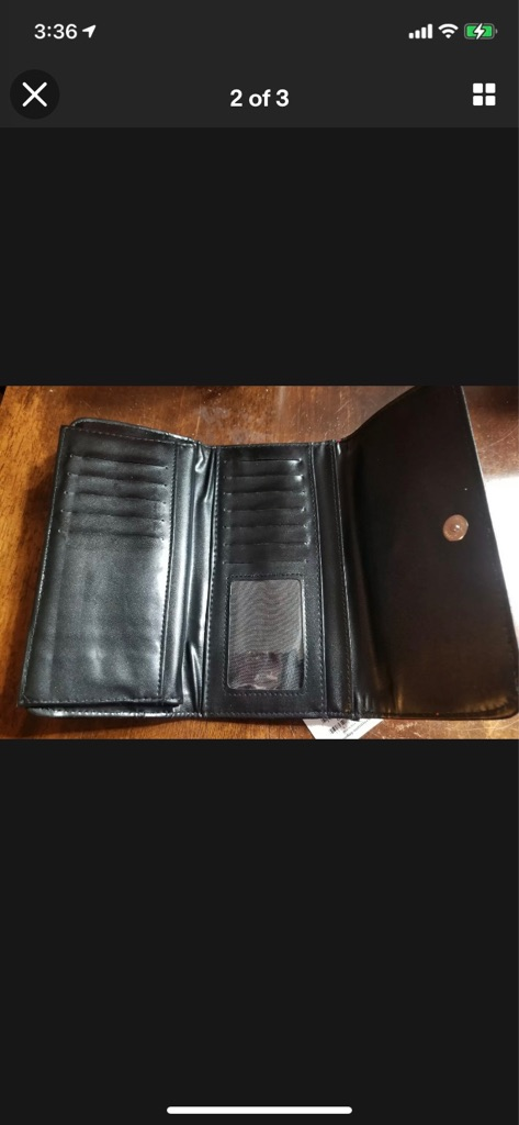 Texas Raiders leather Wallet New With Tags Lots of storage