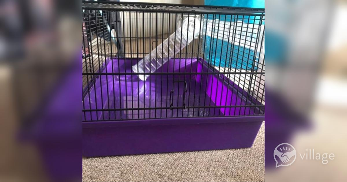 Pets At Home Medium Wire Hamster Cage Village