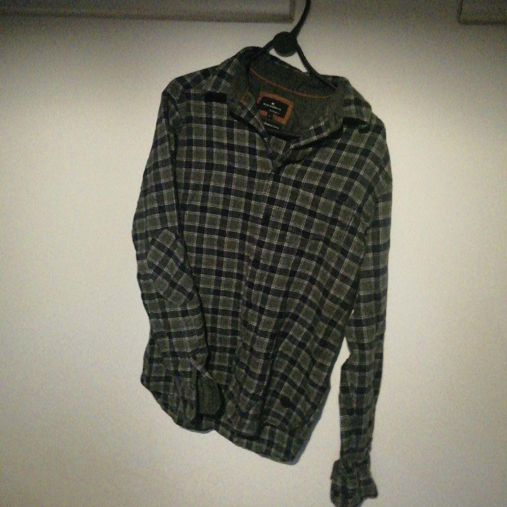 Men's shirt brushed cotton