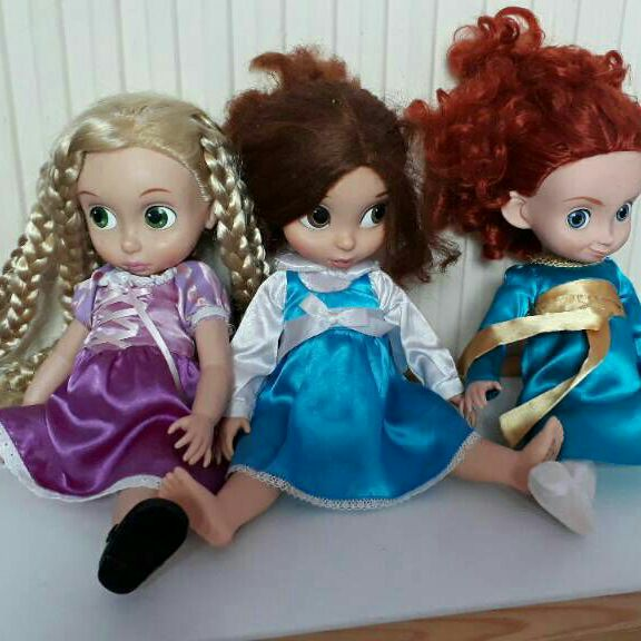 Official Disney store princess toddler dolls