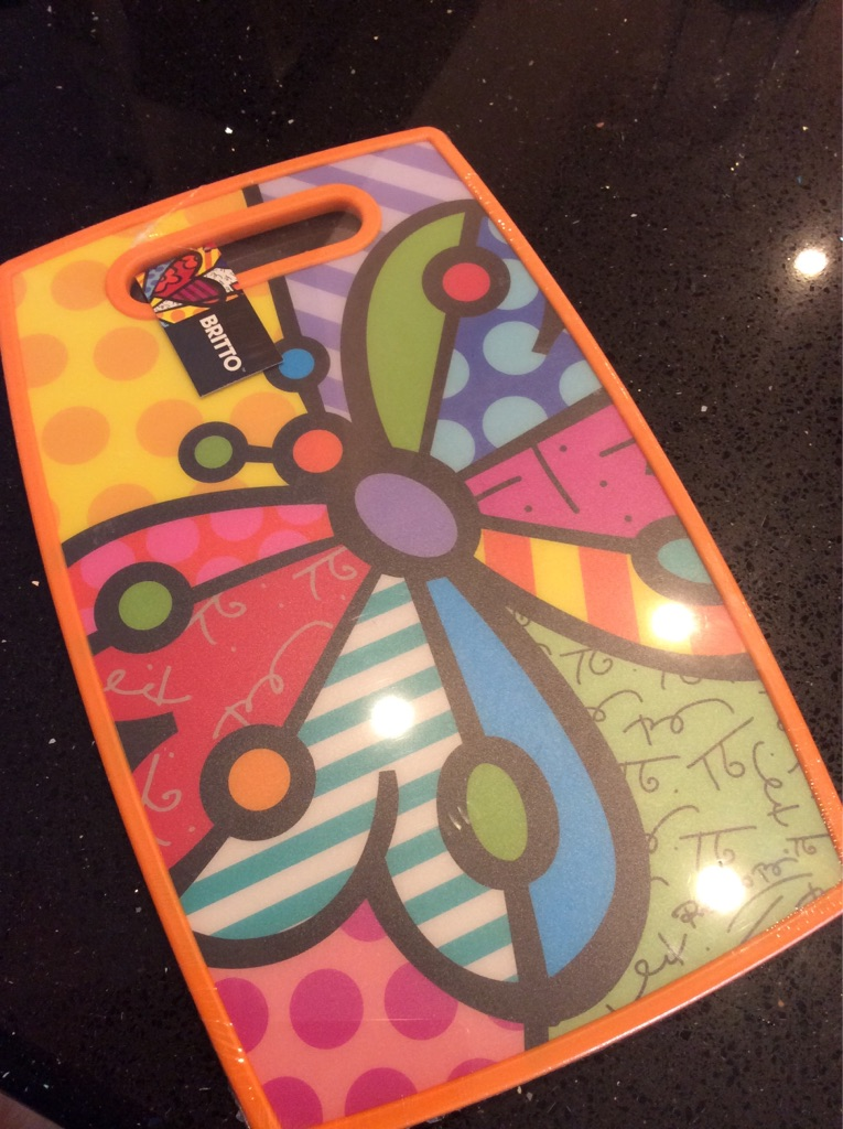 Britto Butterfly Cutting Board! New!