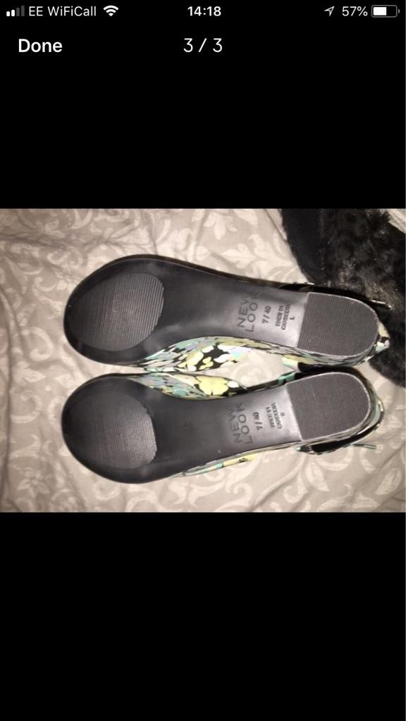 New Look heels - UK size 7