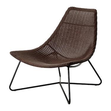 Ikea RÅDVIKEN Armchair Dark brown/black