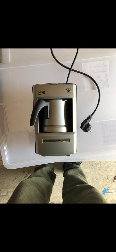 Coffee machine Turkish