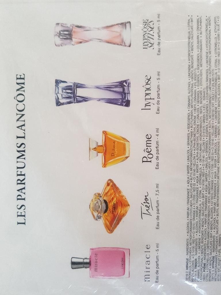 Lancome mini perfumes set