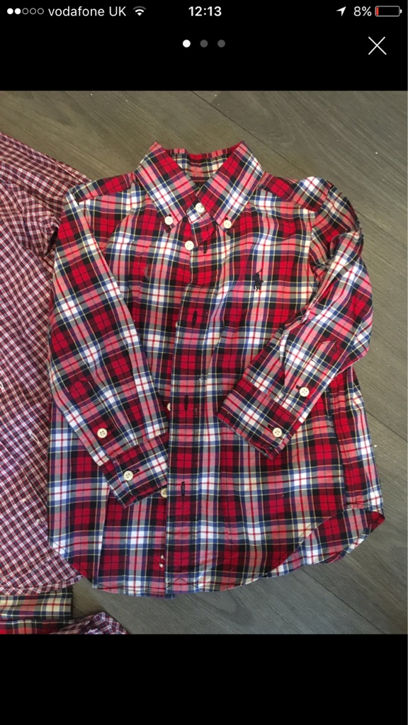 Genuine boys Ralph Lauren shirts