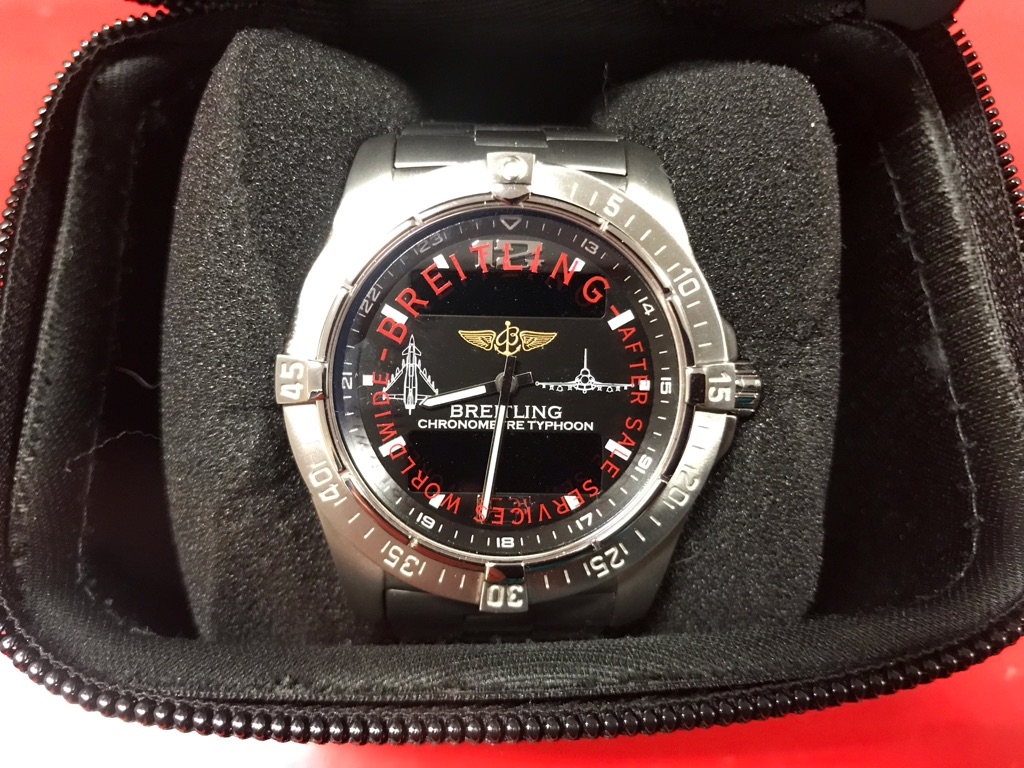 Breitling Aerospace Limited Edition Typhoon watch