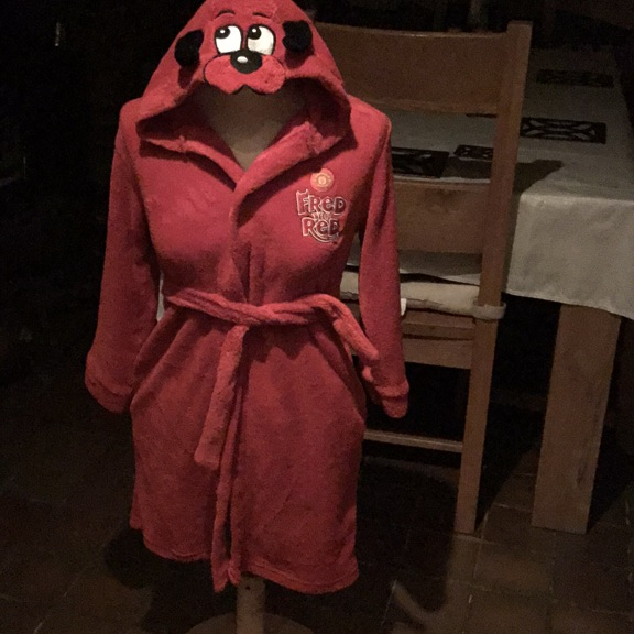 Manchester United childs dressing gown | Village
