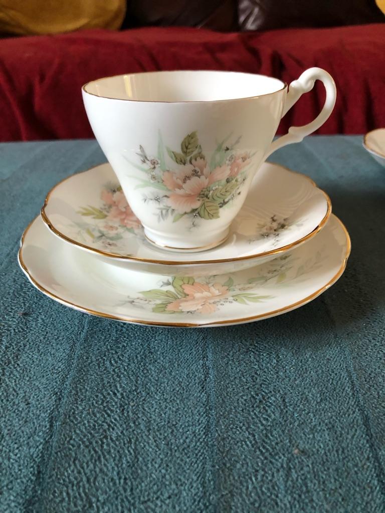 Fine Bone China Tea Set- Royal Stuart