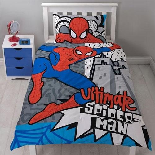 Official Spider-Man hang reversible duvet set