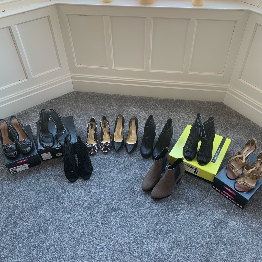 Shoes - variety of shoes and boots - Moda in Pelle, French Connection, Zara