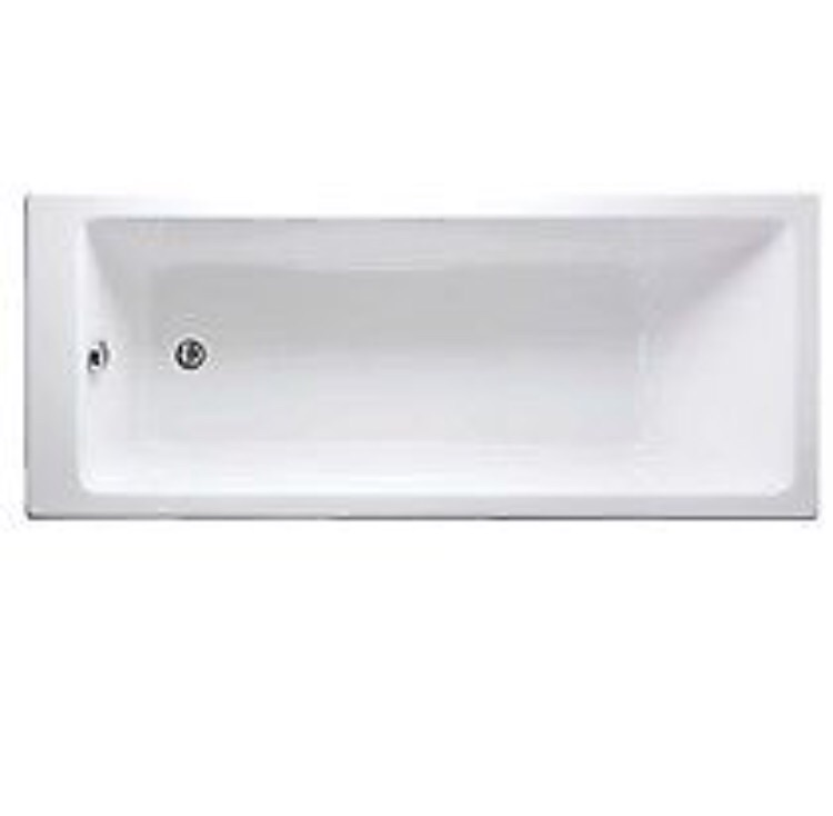 Brand new white bathroom