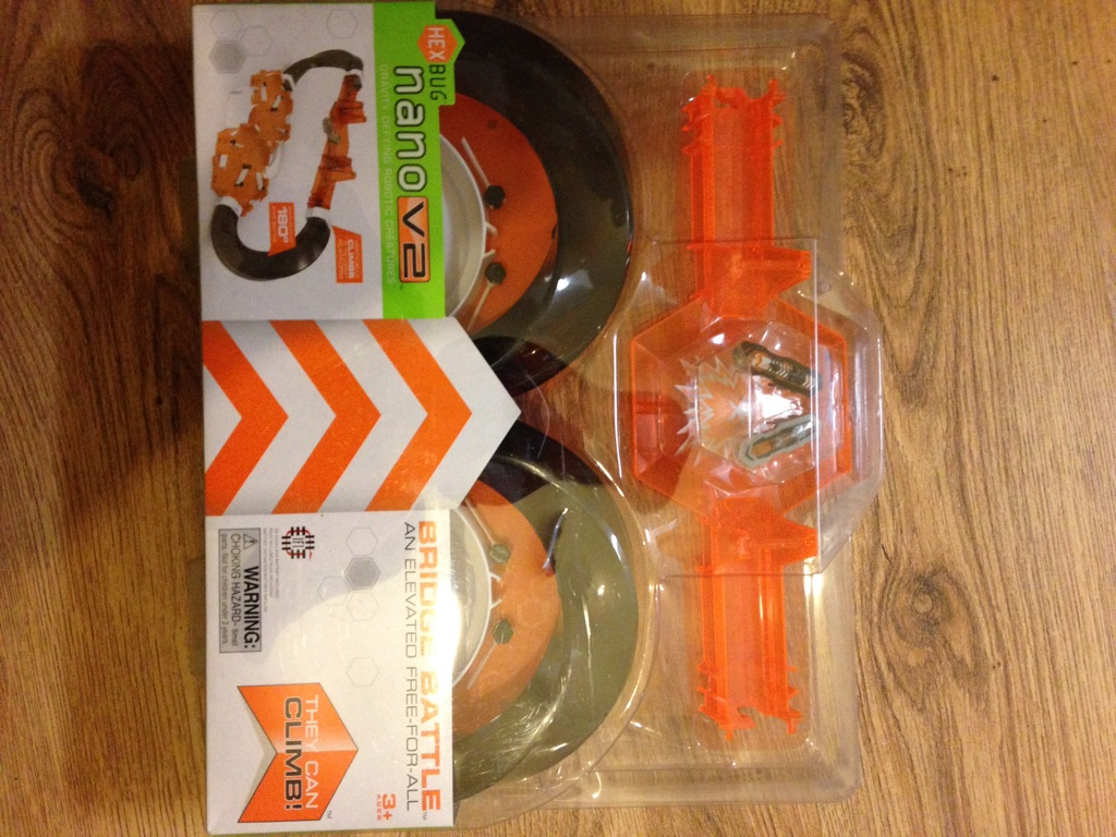 Hexbug nano v2 Nano. Bridge battle. Brand new