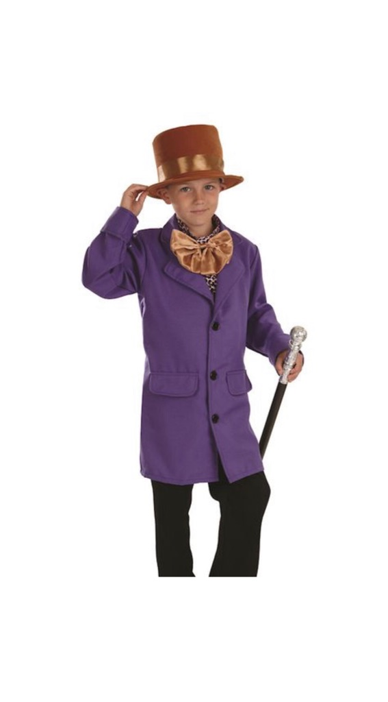 Child costume Factory Owner - Willy Wonka