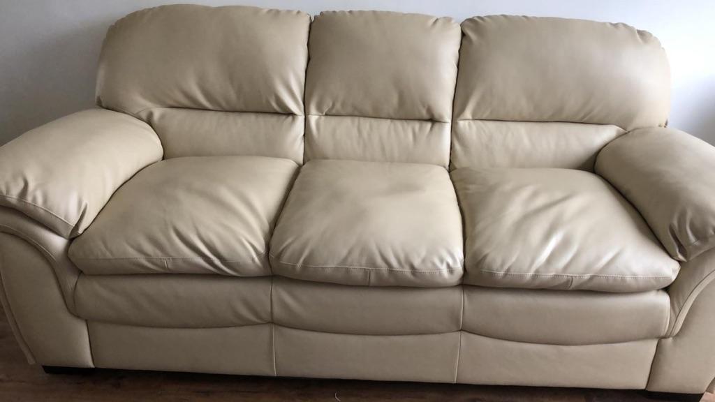 2&3 Leather sofas
