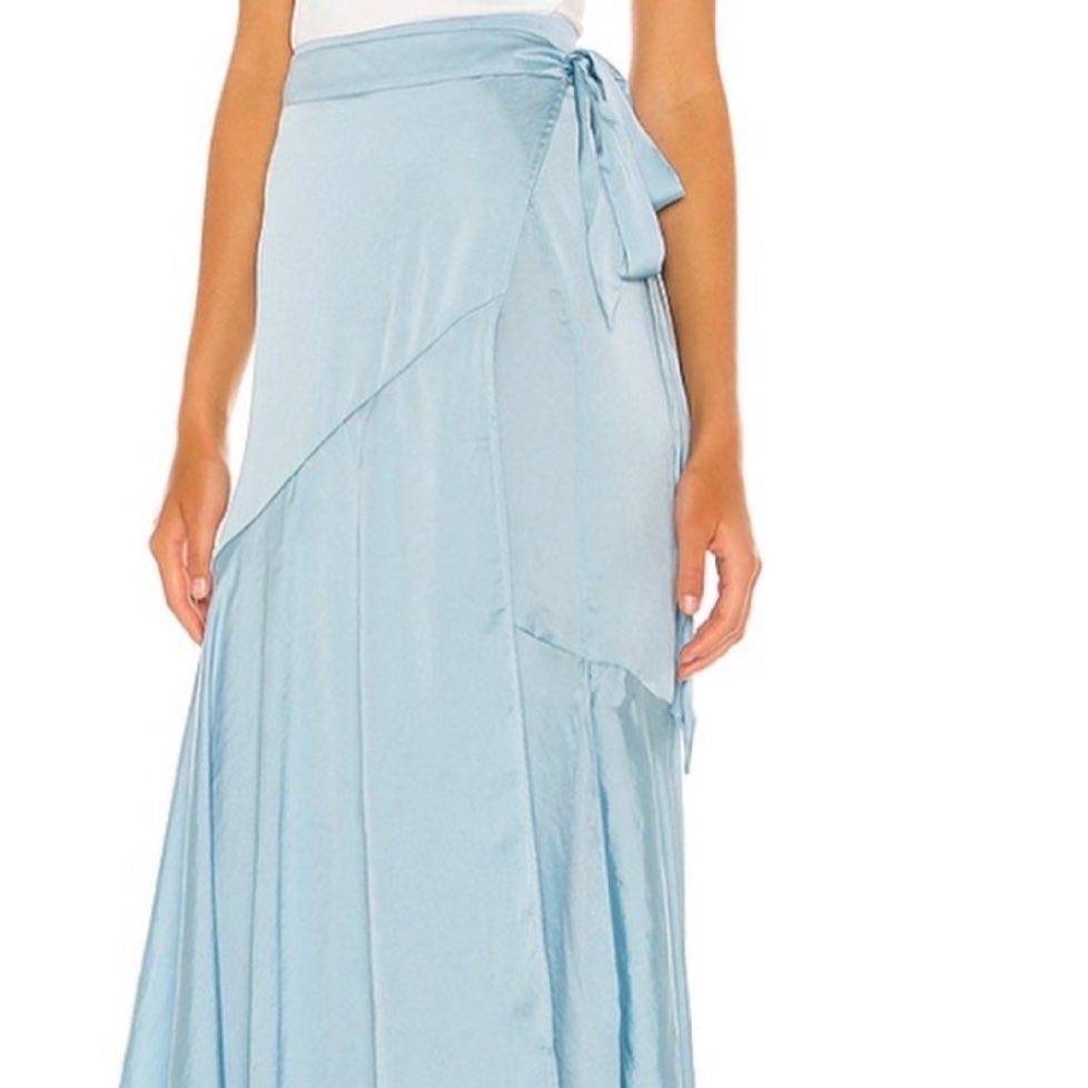 Free People Mist Wrap Skirt Size Large