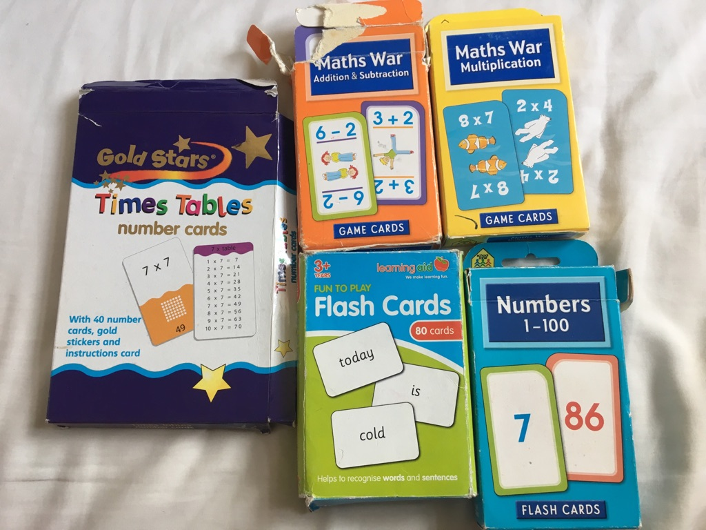 Children's Learning Flashcards Bundle