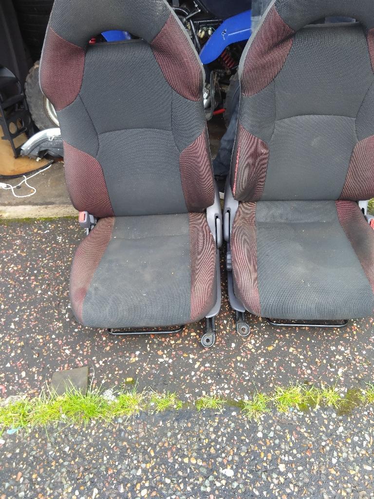 Toyota Celica seats