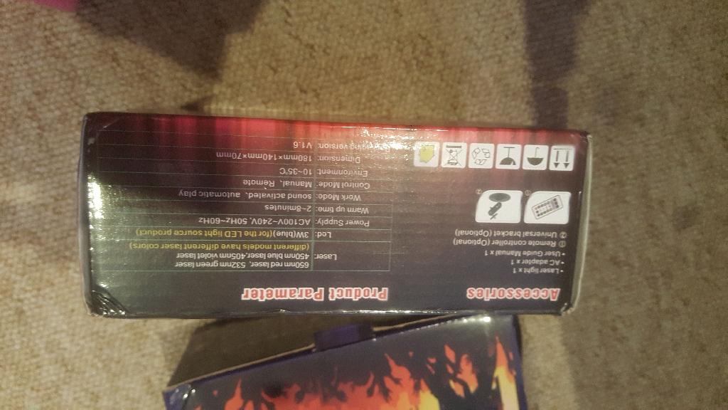 Laser light led brand new in box