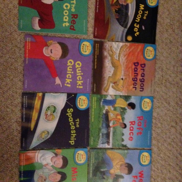Biff Chip and Kipper level 4 Books