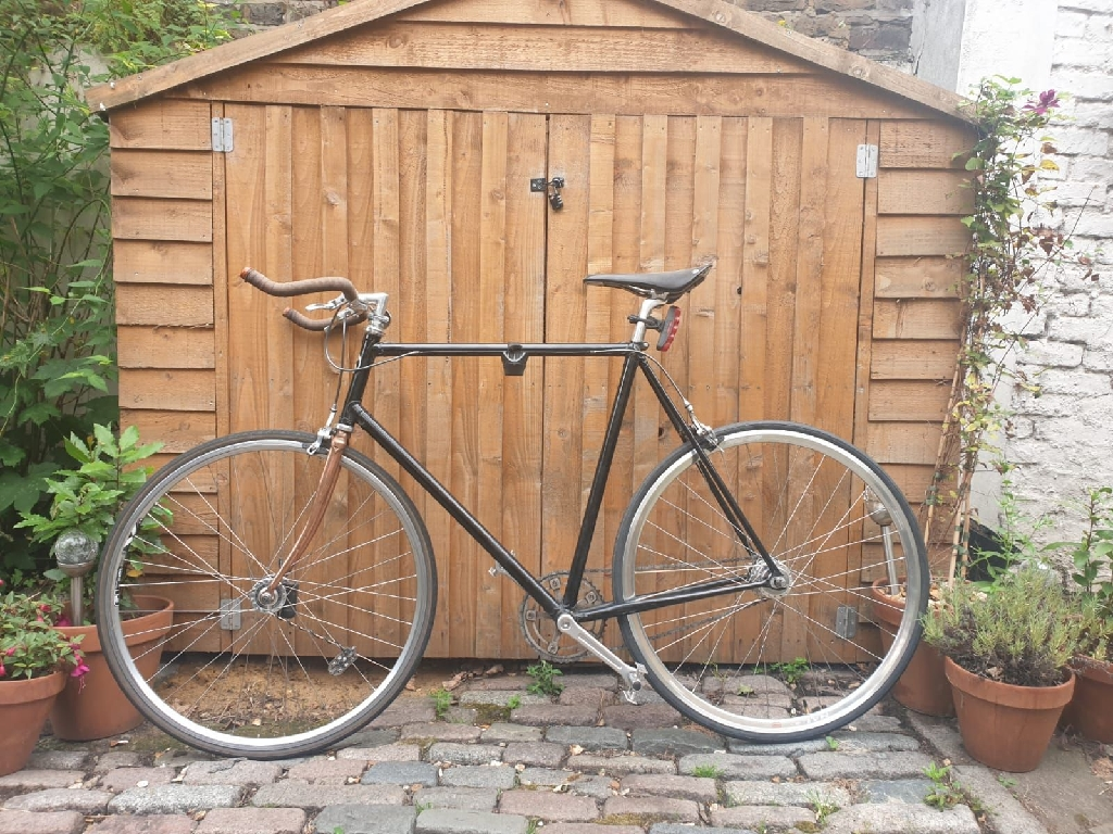 KCB London Track Bike