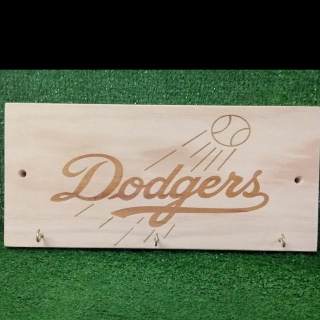 Dodger wooden sign