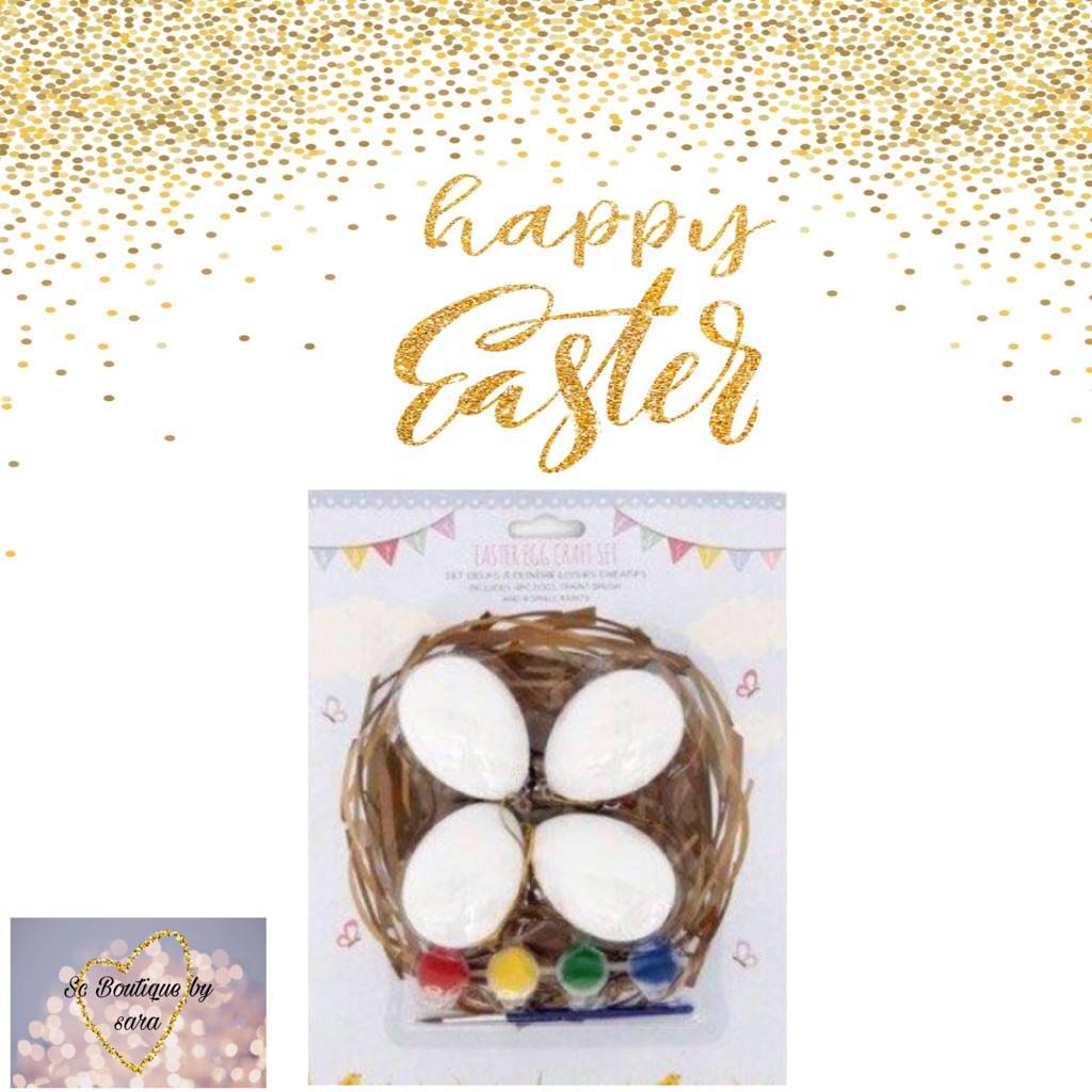 Easter egg craft set