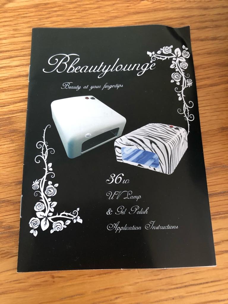 UV Nail Lamp - Beauty Lounge