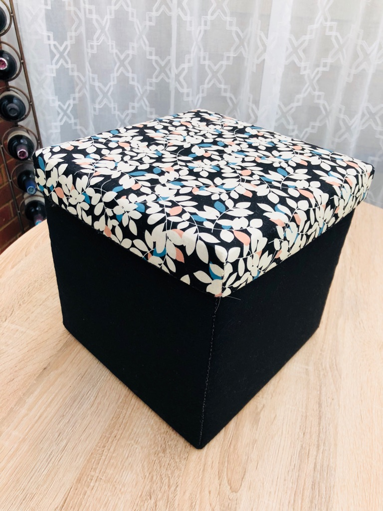 Handmade Fabric Box 10""