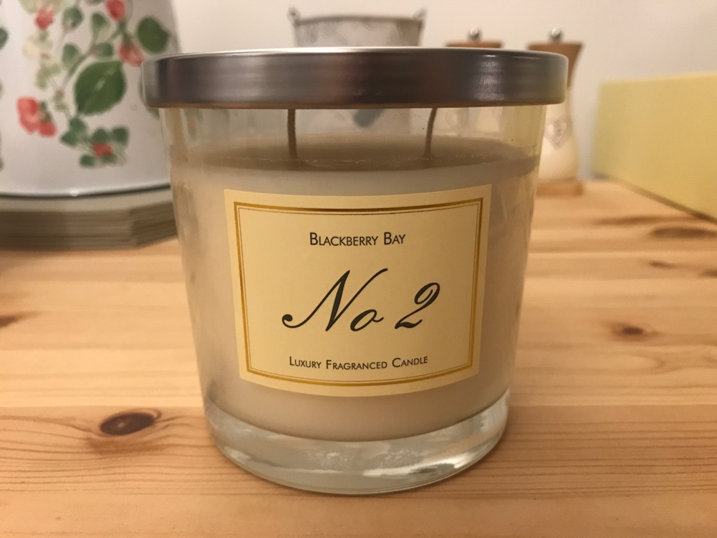 NEW Blackberry Bay, No2 Luxury Candle
