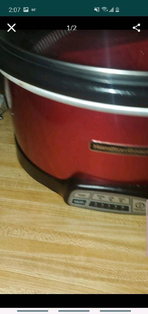 Crock pot and taoster
