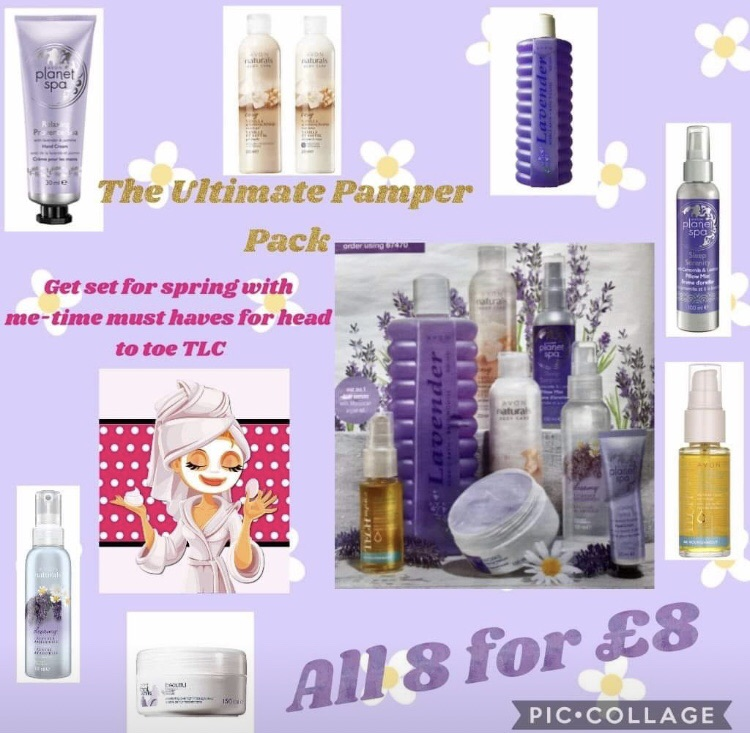 The ultimate pamper pack