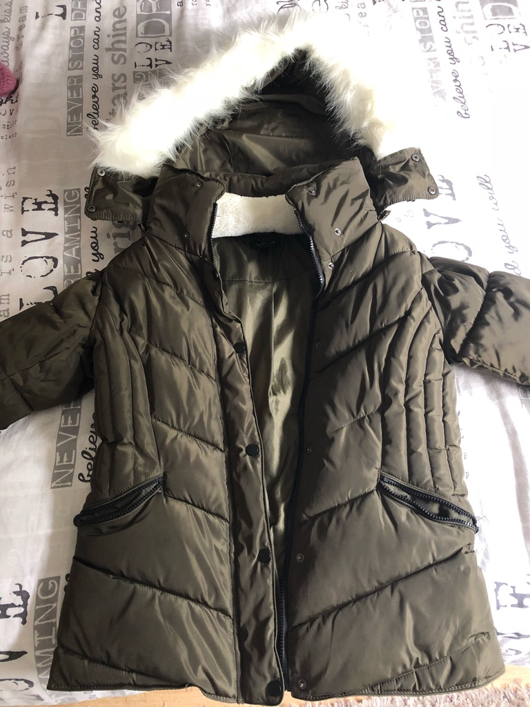 New look coat size 10