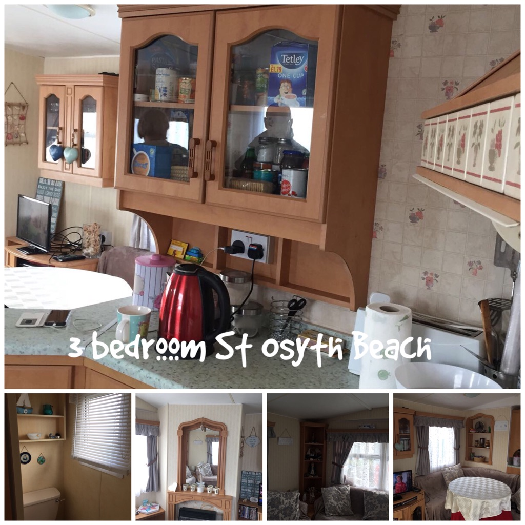3 bedroom caravan, st osyth beach