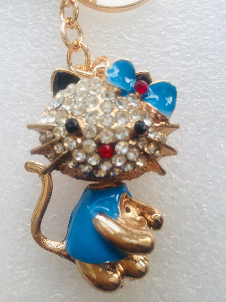 Keys ring holder with cat **** 3