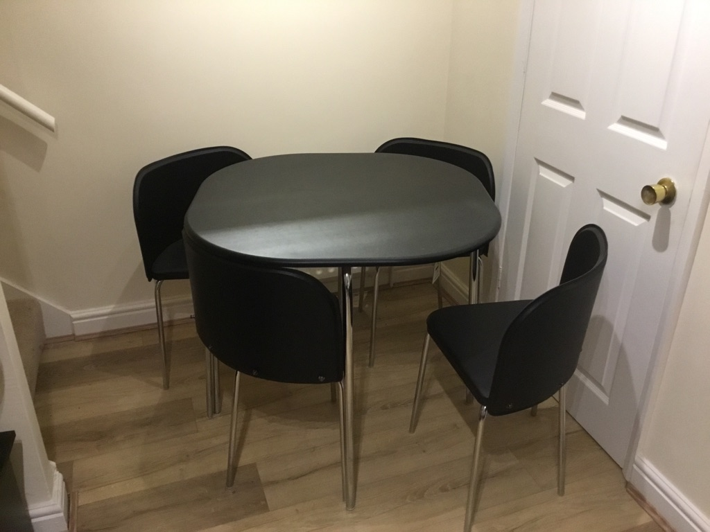 Argos Amparo dining table and chairs