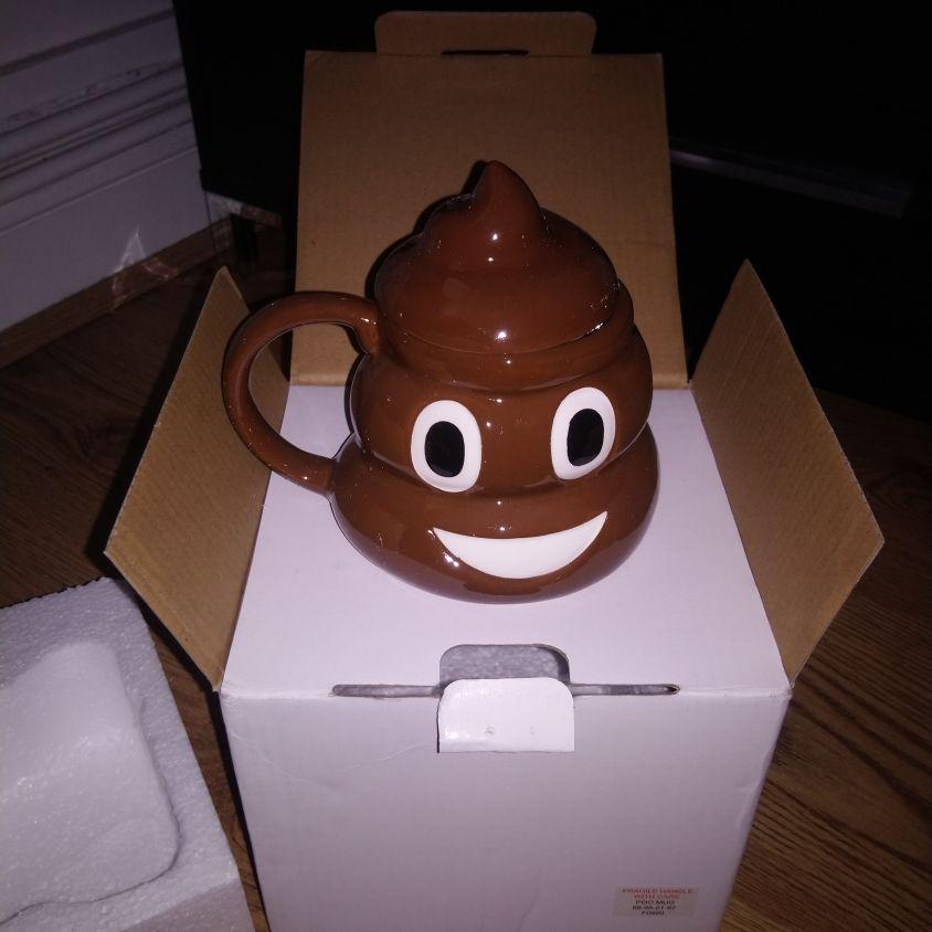Poop Emoji cup