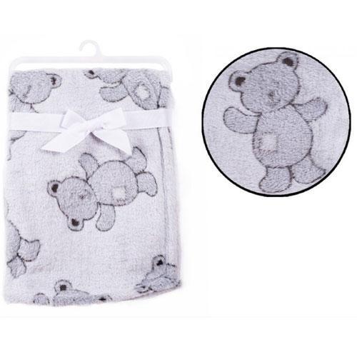 Baby soft teddy design blanket