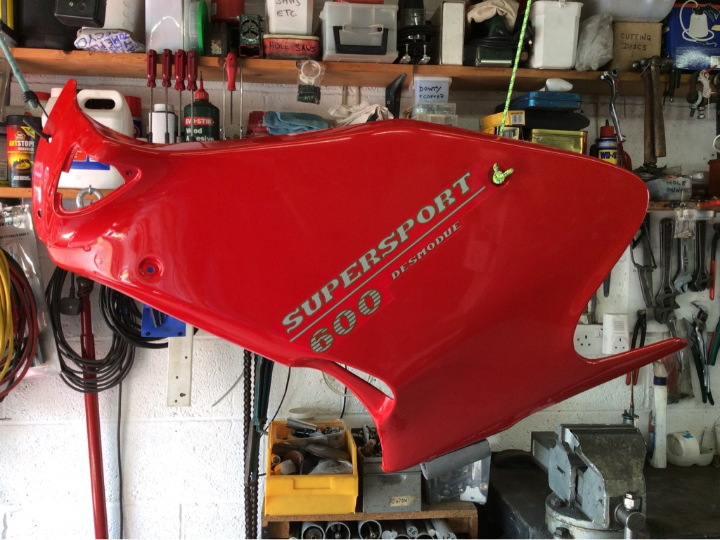 Ducati 600 or 750ss left hand fairing in good condition
