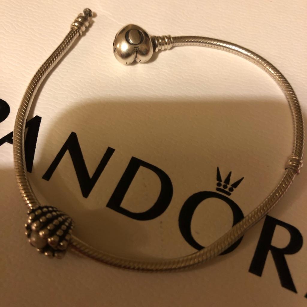 Pandora Bracelet & pandora charm ALE 925