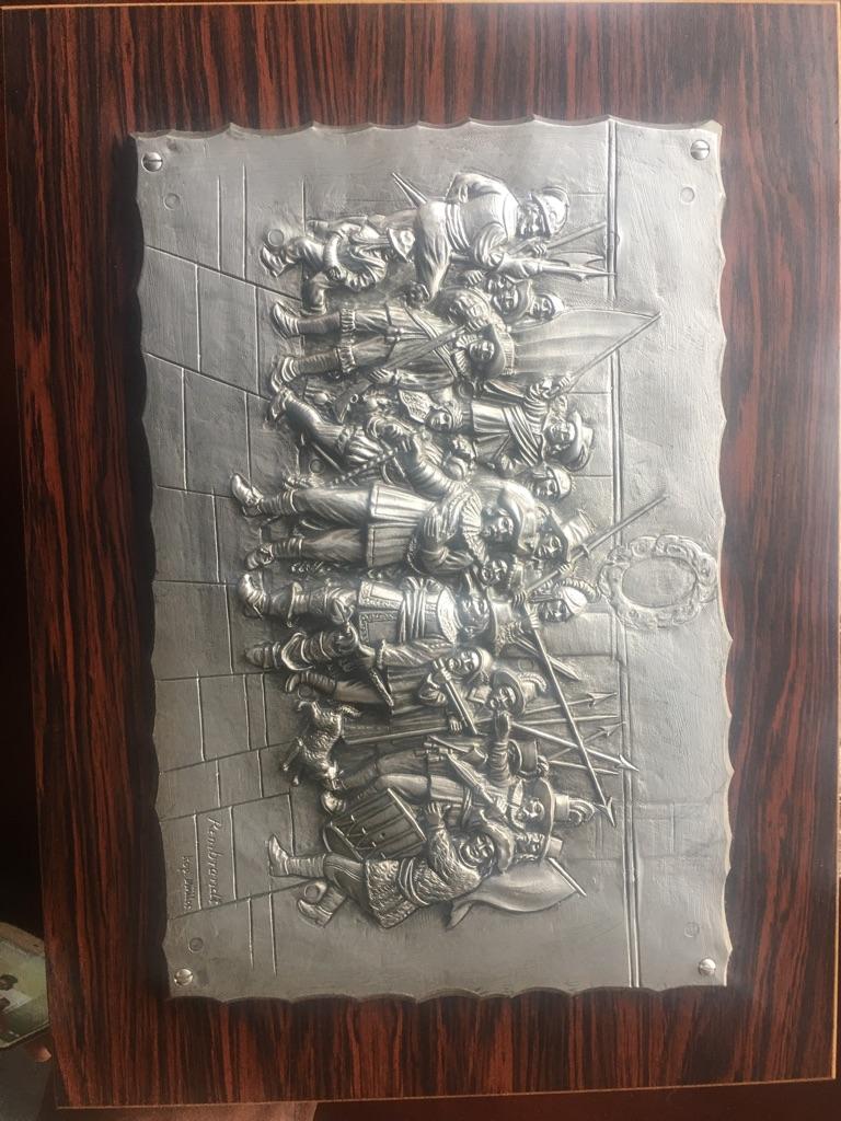 Rembrandt plaque