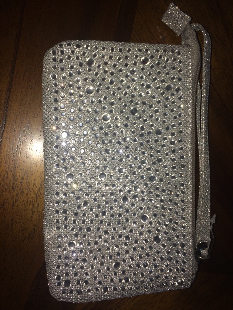 Cute Bedazzled Clutch