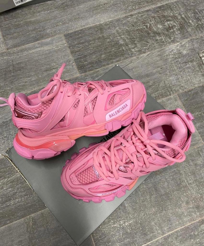 Pink balenciaga size 5 trainers