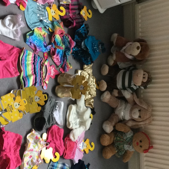 Build a bears clothes and accessories