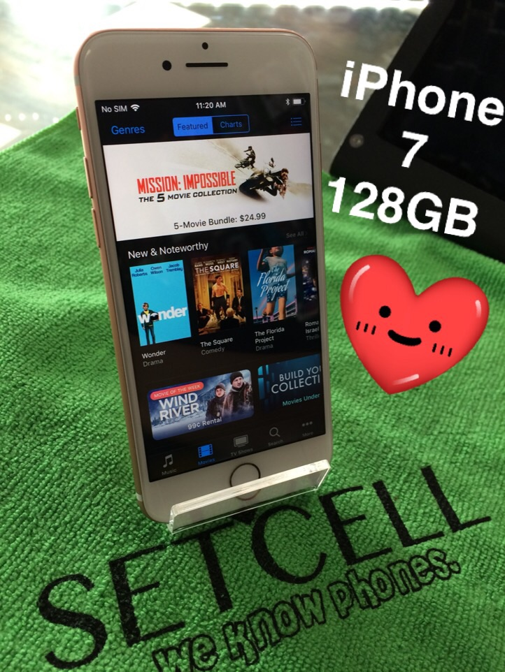 iPhone 7 128GB (AT&T/Cricket)